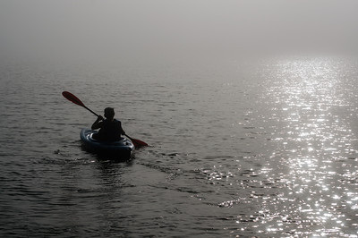 Kayaking at Bowman Bay